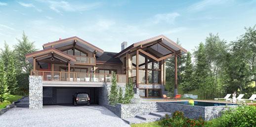 chauvin construction bois maison ossature bois jura. Black Bedroom Furniture Sets. Home Design Ideas