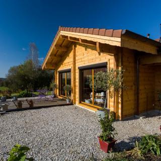 Construction maison bois Besain - Jura