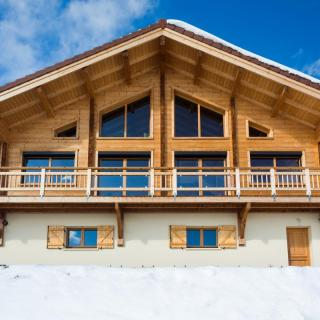Chalet bois traditionnel La Bresse