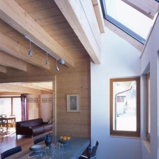 Construction maison bois Suisse Le Brassus