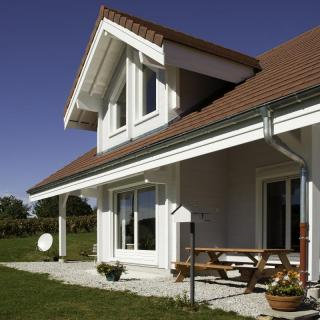 Maison bois à Le Vernois (39)