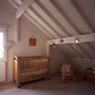 Intérieur maison ossature bois Dole (39)