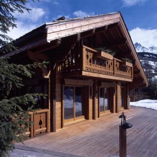 Chalet bois Savoie