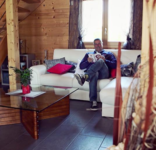 Construction d'un chalet bois de 100m² en Haute-Savoie à Le Lyaud (74)