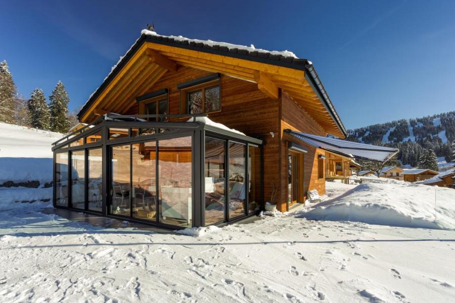 Chalet bois à Les Savagnières (Suisse)