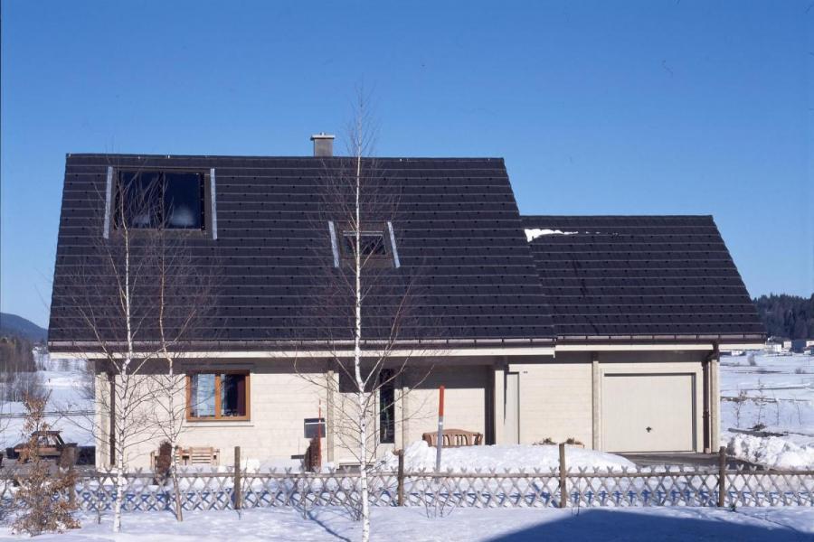 Maison bois à Le Brassus (Suisse)