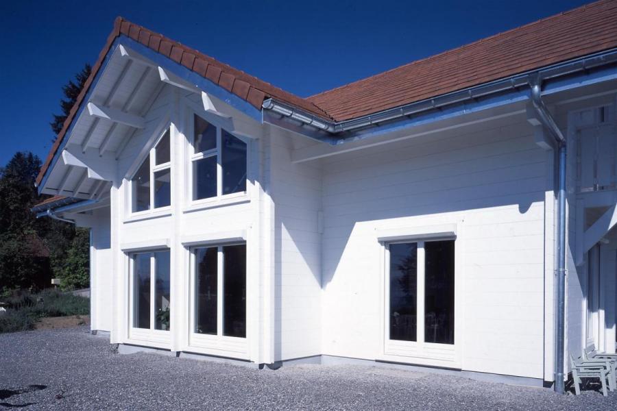 Maison bois à Larringes (74)