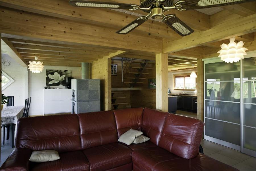 Maison bois à Barretaine (39)